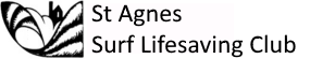 St Agnes Surf Life Saving Club logo